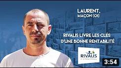 Témoignage Client Rivalis - Laurent, maçon (01)