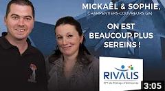 Témoignage Client Rivalis - Mickaël, charpentier-couvreur (24)